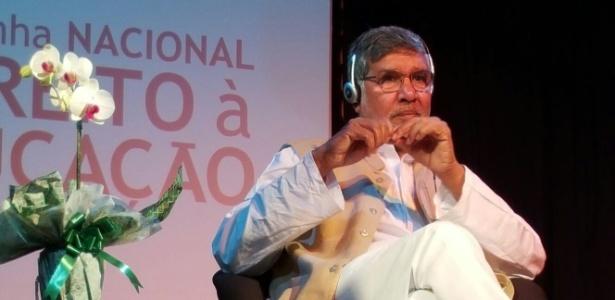 Kailash Satyarthi, prêmio Nobel da Paz, faz aula pública na zona oeste da capital paulista
