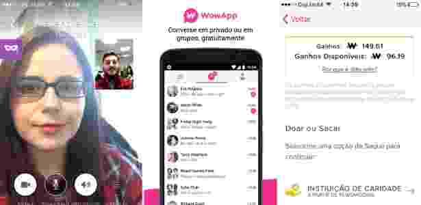 Aplicativo de mensagens Wowapp - Divulgação