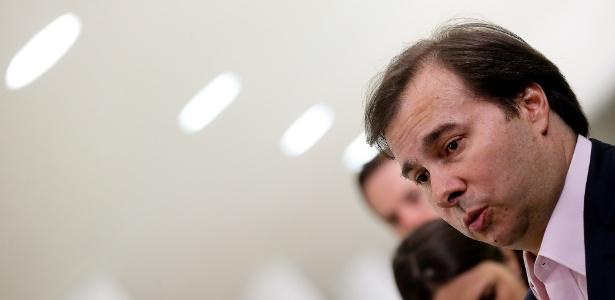 Rodrigo Maia (DEM-RJ), presidente da Câmara, quer agilizar reforma da Previdência