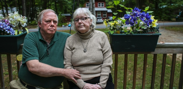 Dave e Roxanne Maleham, que decidiram doar órgãos de seu filho após ele morrer de overdose