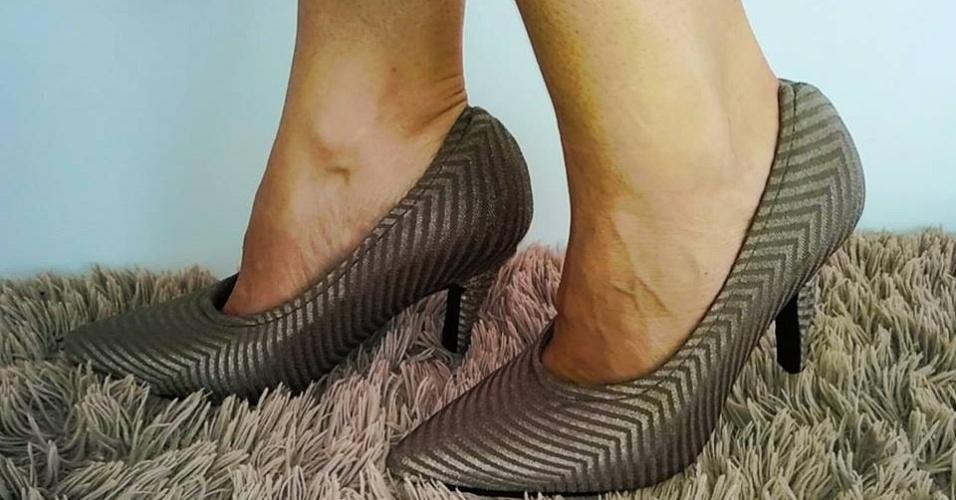 Capas de sapatos da empresa Cover Shoes, criada pela empresária Kamila Pádua