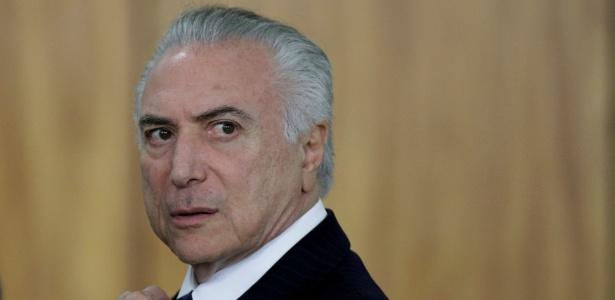 26.jun.2017 - O presidente Michel Temer (PMDB) participa de cerimônia de entrega de credenciais a diplomatas em Brasília