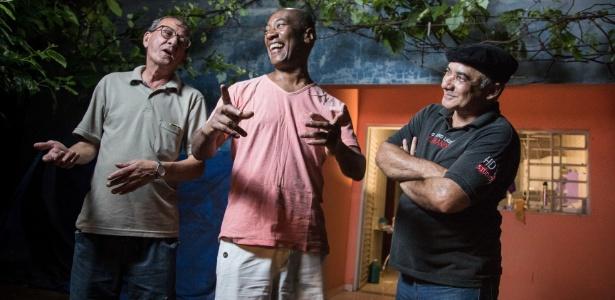Castelano, Rodrigues e Mazotto trabalhavam no Carandiru à época de sua desativação