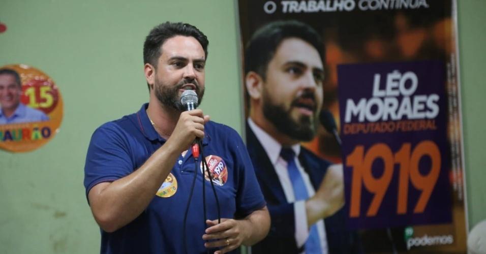 8.set.2018 - Léo Moraes (Podemos) conquistou uma vaga no Congresso Nacional com a votação mais expressiva de Rondônia entre os candidatos a deputado: 69 mil votos