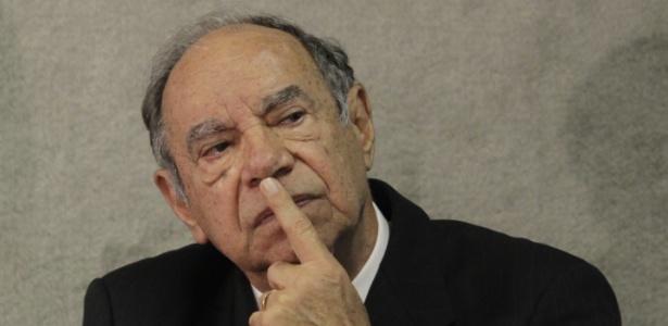 O coronel Carlos Alberto Brilhante Ustra em 2013 - Sérgio Lima/Folhapress