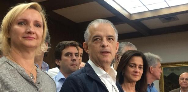 Márcio França (PSB) discursa após ser confirmada derrota no segundo turno
