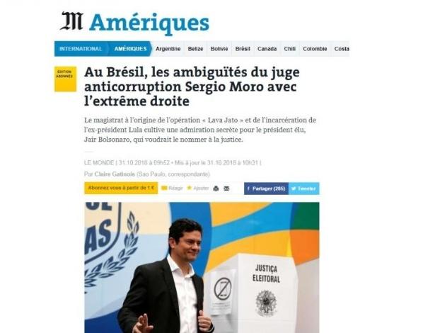 Le Monde / Reprodução