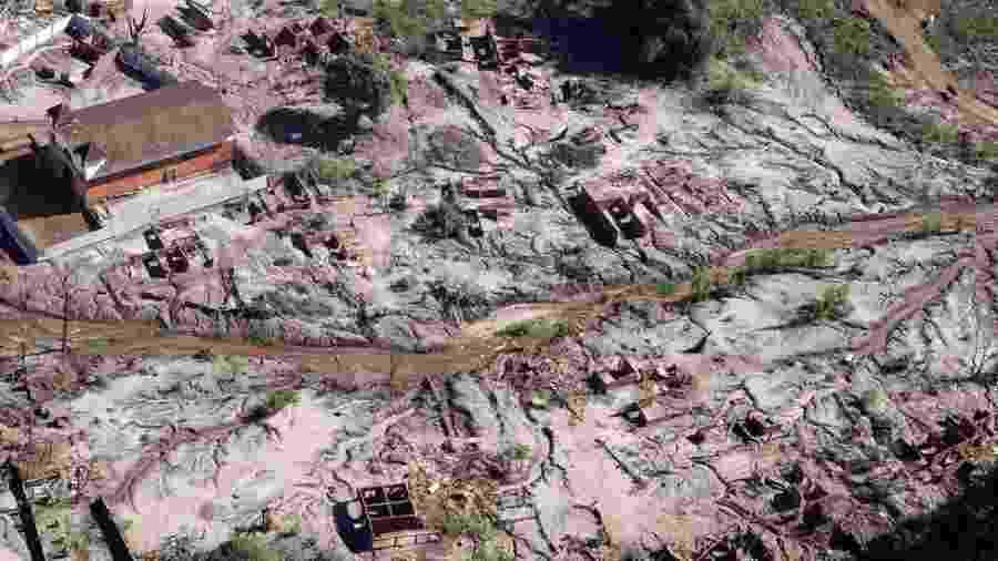 Lama da barragem de Mariana - Felipe Werneck/Ascom/Ibama
