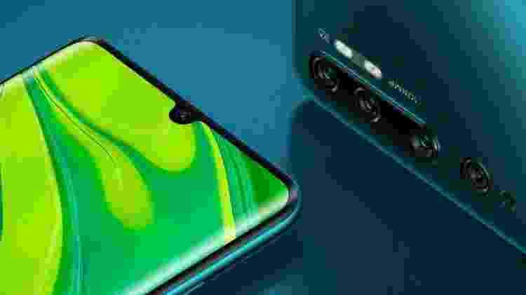 Xiaomi Mi Note 10 (ou Xiaomi Mi CC9 Pro) - Divulgação