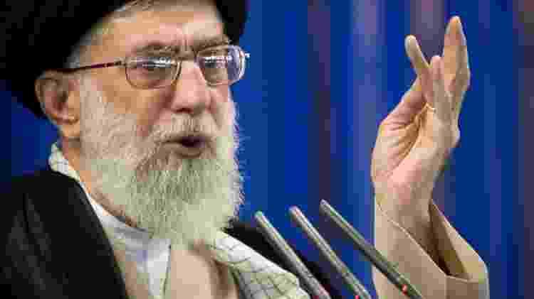Líder supremo do Irã, aiatolá Ali Khamenei - Morteza Nikoubazl