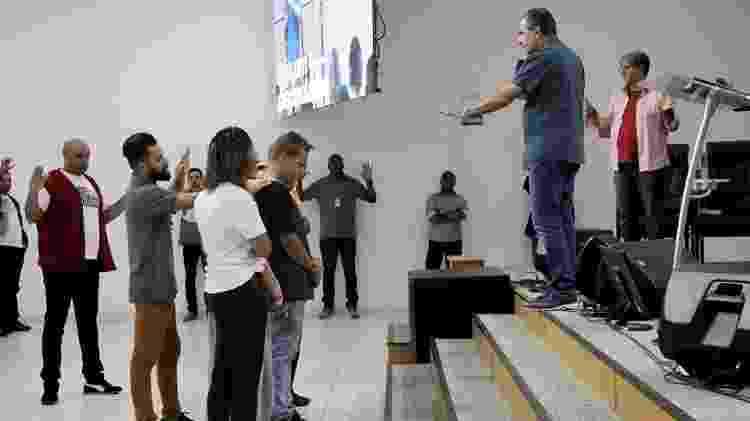 Pastor Silas Malafaia promove culto em igreja de Campo Grande, na zona oeste do Rio - Divulgação - Divulgação