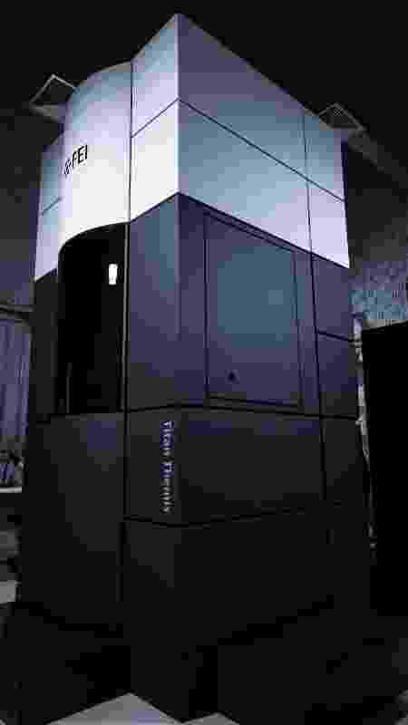 Máquina de criomicroscopia eletrônica pode ser usada na investigação do coronavírus - Henrique Grandi/UOL