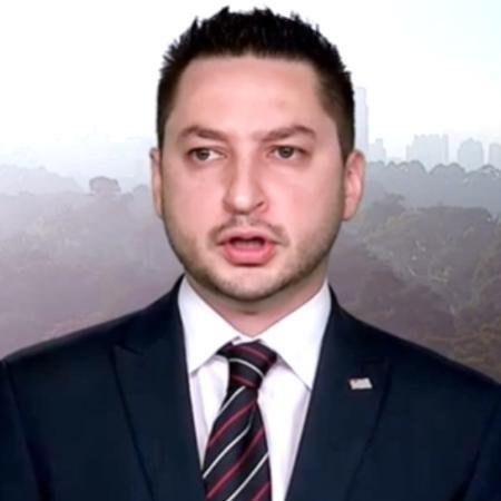 Secretário de Desenvolvimento Regional do Estado de São Paulo, Marco Vinholi - Reprodução/TV Globo