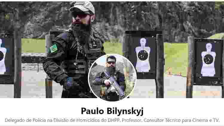 Exceto que venha a ser autorizado, perfil do delegado Paulo Bilynskyj, do DHPP, no Facebook, estaria fora das regras da portaria da Polícia Civil - Reprodução/Facebook - Reprodução/Facebook