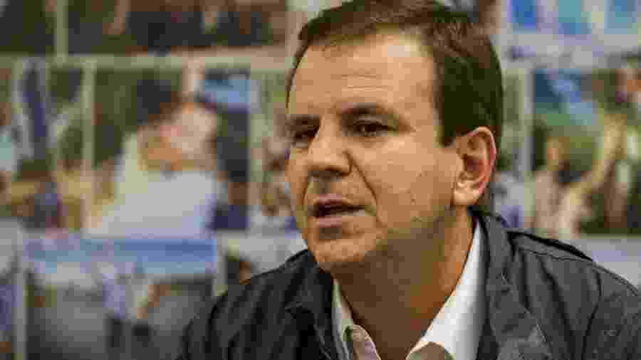 Eduardo Paes, pré-candidato à prefeitura do Rio pelo DEM -  Ricardo Borges/Folhapress