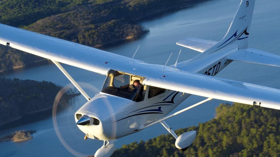 Cessna 172 Skyhwak é fabricado desde os anos 1950 - Divulgação