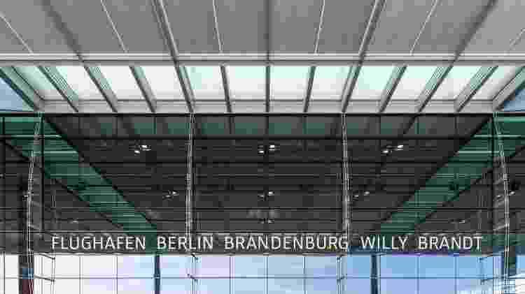 aeroporto berlim bradenburgo - Divulgação - Divulgação