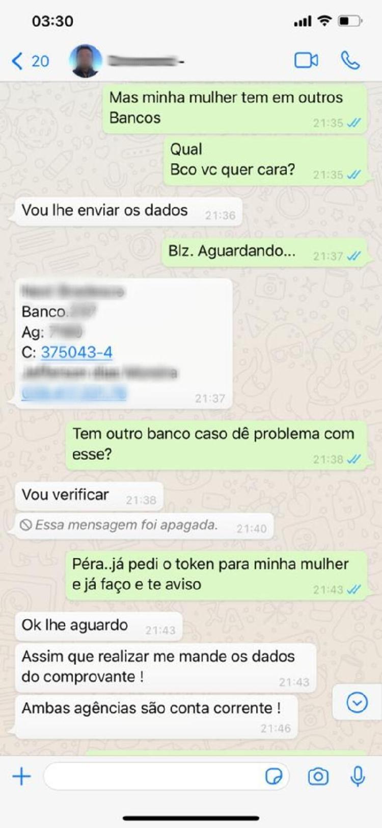 Golpe do WhatsApp (2) - Reproduzir / Todo golpe - Jogar / Todo golpe