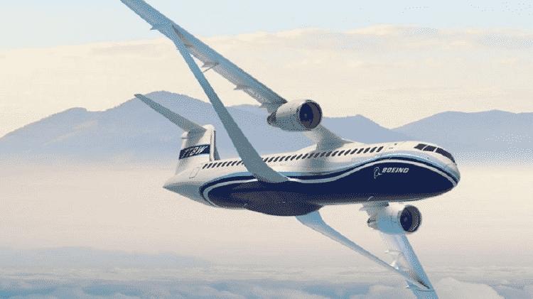 Projeto Transonic Truss-Braced Wing da Boeing - Boeing - Boeing