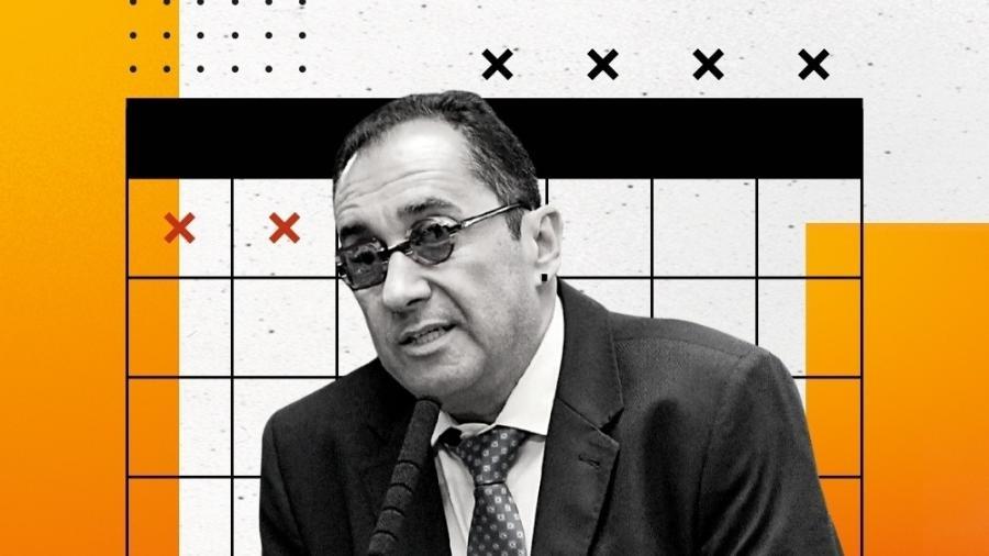 O senador  Jorge Kajuru, de Goiás - Geraldo Magela - 1º.fev.19/Agência Senado