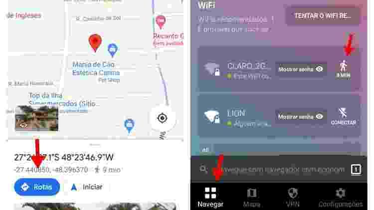 4 - passo a passo encontrar wi-fi aplicativo Instabridge - Reprodução - Reprodução