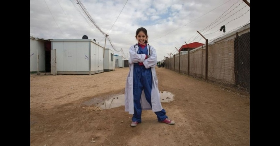 9.fev.2016 - Rama, 13, é uma futura médica.