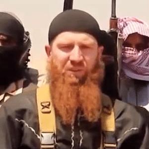 """Abu Omar Al-Shishani, """"ministro da guerra"""" do Estado Islâmico - Reprodução/Youtube"""