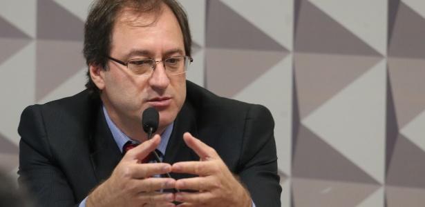 Gilson Bittencourt, ex-secretário-executivo adjunto da Casa Civil, é ouvido como testemunha de defesa da presidente afastada, Dilma Rousseff, pela Comissão do Impeachment do Senado