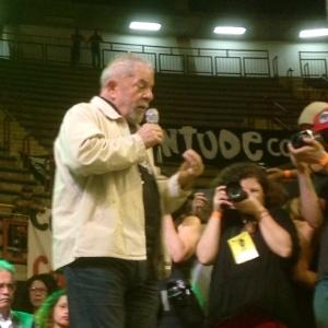 No evento, Lula criticou a atual falta de tolerância na sociedade