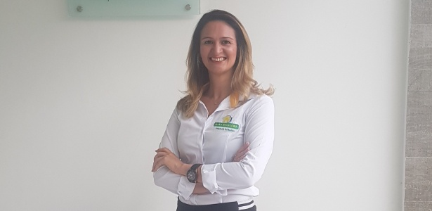Desempregada, a advogada Laíne Mangueira comprou franquia de limpeza