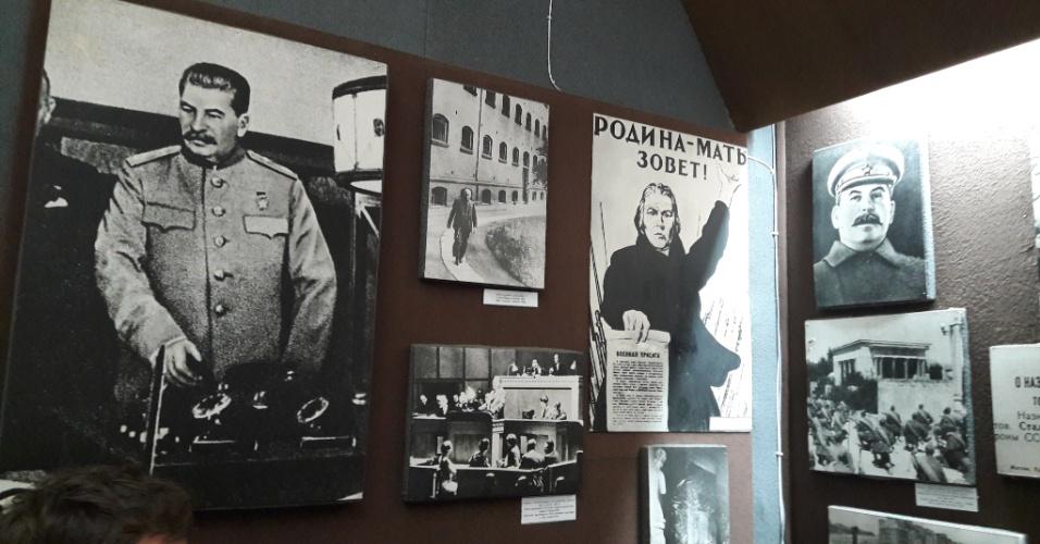 Imagens da vida de Stalin