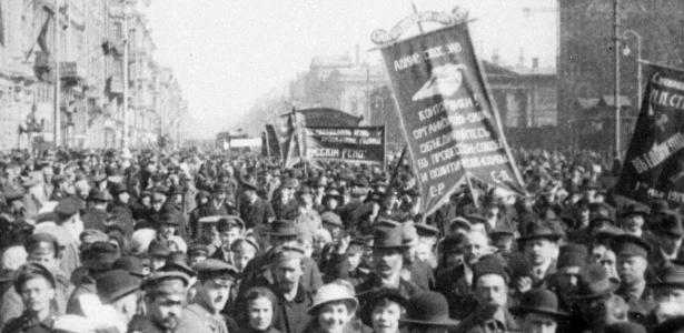 Revolução de Fevereiro começou com greves e protestos em Petrogrado