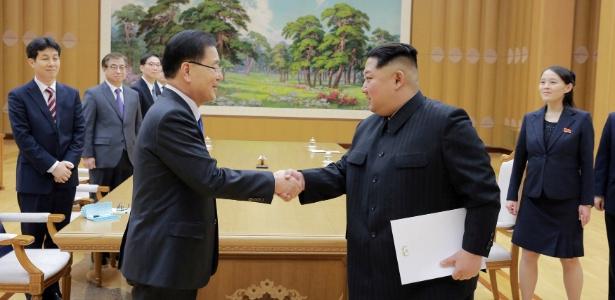 Líderes da Coreia do Norte e EUA | Após convite, Trump aceita encontro com Kim Jong-un