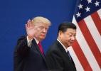 Presidente americano coloca os EUA e a China à beira de uma Guerra Fria econômica - Nicolas Asfour/AFP