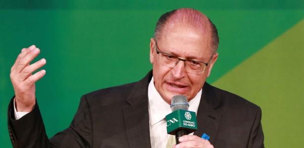 Geraldo Alckmin participa de sabatina da CNA (Confederação da Agricultura e Pecuária)