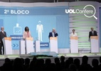 Em debate da CNBB, presidenciáveis exageram ao falar de saúde e pobreza (Foto: Arte/UOL)