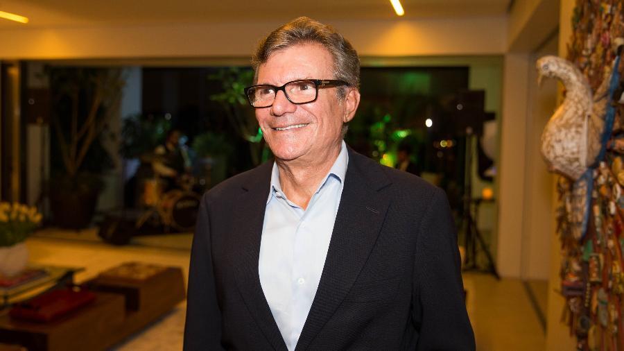 O empresário Sebastião Bomfim, dono da rede de lojas Centauro - Marcus Leoni/Folhapress