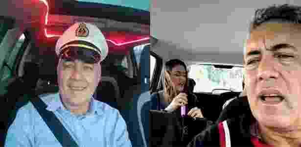 Uber: motorista Neyton, karaokê - UOL - UOL