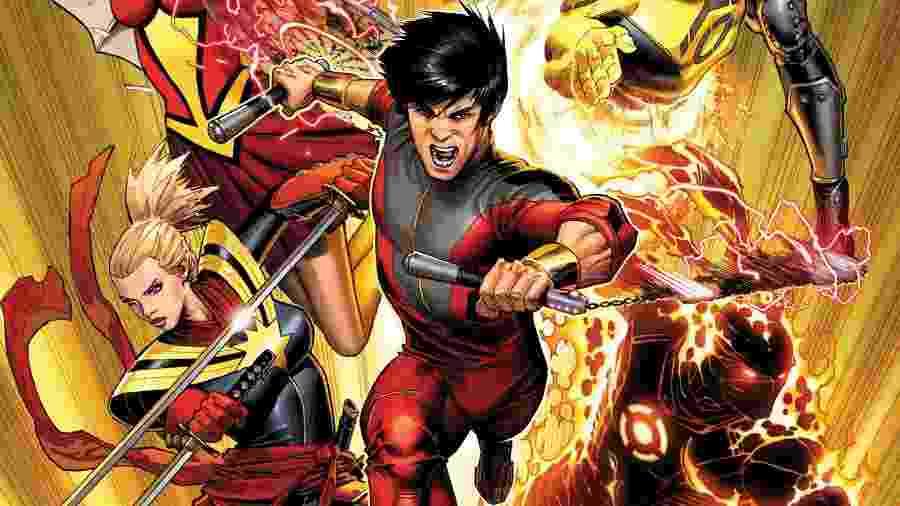 """""""Shang-Chi"""": Marvel prepara 1º filme com super-herói asiático - Reprodução"""