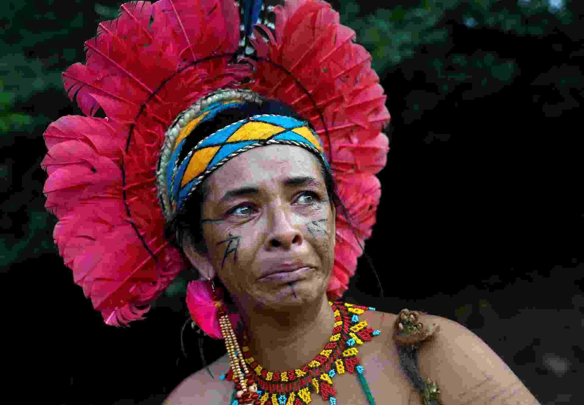 29.jan.2019 - Fonte de sustento para a comunidade, o rio foi atingido pela lama e por dejetos minerais, ameaçando o abastecimento não só dos índios, mas também dos moradores de várias cidades cuja água para consumo vem do Paraopeba - Adriano Machado/Reuters