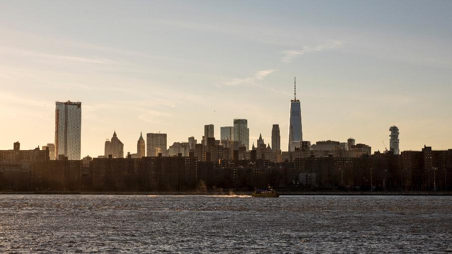 O horizonte de Manhattan em Nova York - Robert Wright/The New York Times
