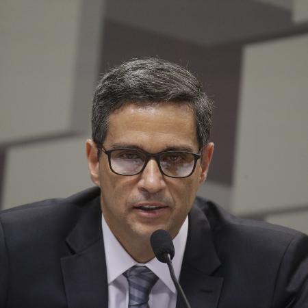 Roberto Campos Neto também criticou a pressão para que o governo entre com mais força para estimular o crescimento - Dida Sampaio/Estadão Conteúdo