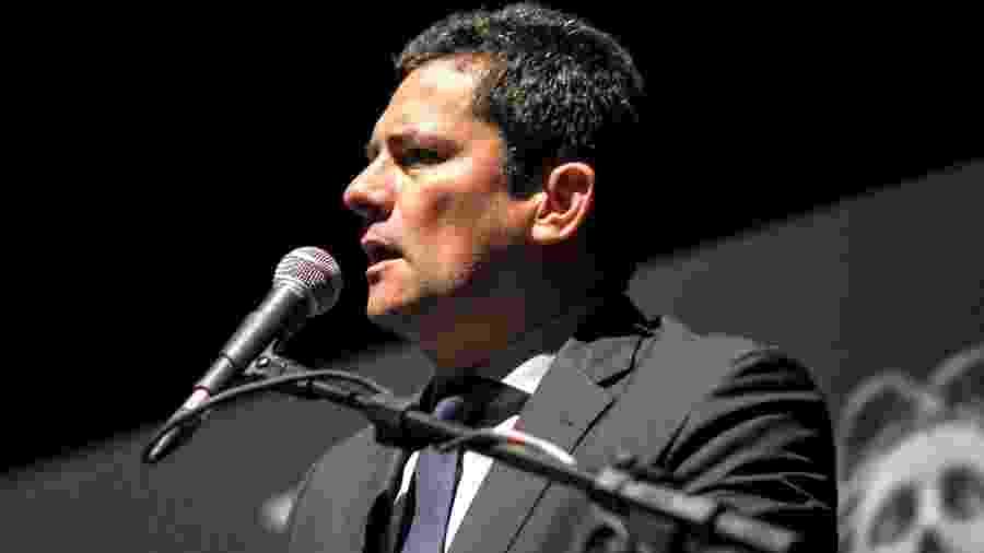 Moro falou durante palestra no teatro Positivo, em Curitiba, nesta segunda-feira - Eduardo Matysiak/Futura Press/Estadão Conteúdo