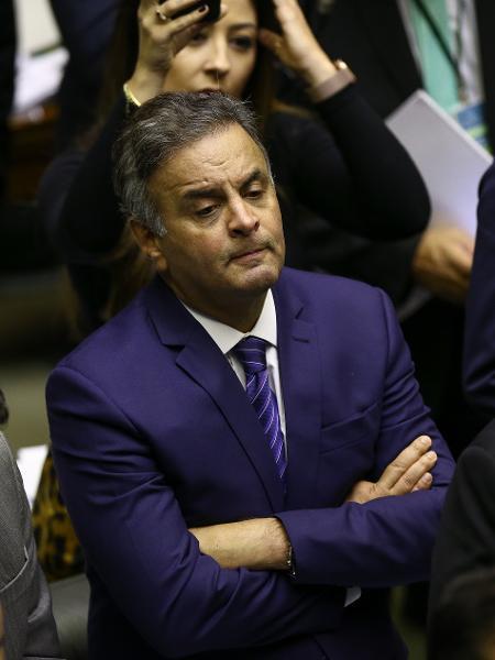 Arquivo - O deputado Aecio Neves (PSDB-MG) no plenário da Câmara  - Pedro Ladeira - 10.jul.2019/Folhapress