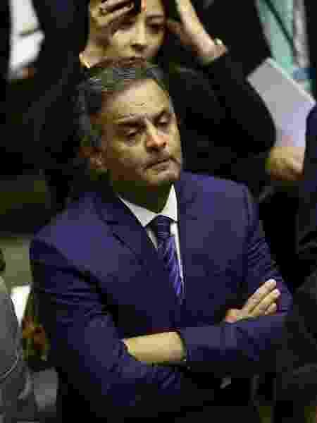 O deputado Aecio Neves (PSDB-MG) no plenário da Câmara dos Deputados - Pedro Ladeira - 10.jul.2019/Folhapress