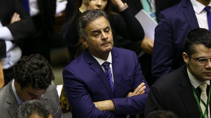 10.jul.2019 - O deputado Aecio Neves (PSDB-MG) - Pedro Ladeira - 10.jul.2019/Folhapress