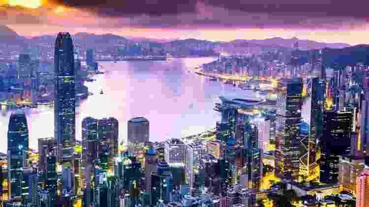 Hong Kong é uma das cidades mais caras do mundo - Getty Images - Getty Images