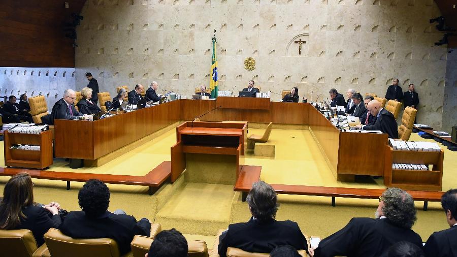 Plenário do STF (Supremo Tribunal Federal) durante julgamento sobre prisão após a segunda instância - Carlos Alves Moura/SCO/STF