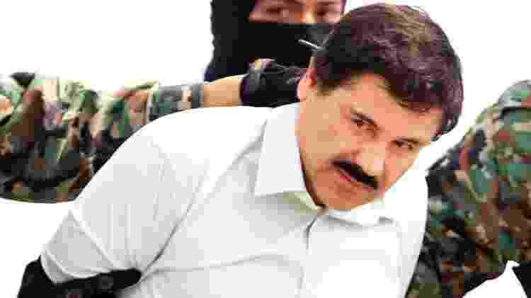 """""""El Chapo"""" Guzmán foi condenado à prisão perpétua nos Estados Unidos. Ele saiu na lista da Forbes em 2013 - EPA - EPA"""