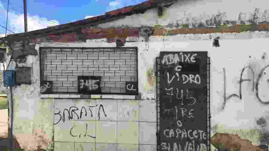 """Em Fortaleza, bairros dominados pela facção GDE têm aviso: """"abaixe o vidro do carro ou tire o capacete"""" - Luís Adorno/UOL"""